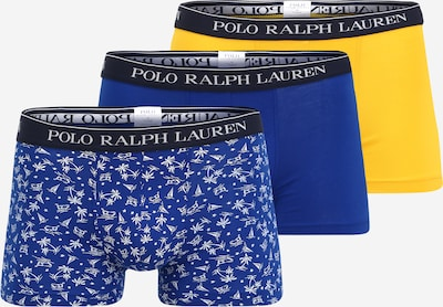 POLO RALPH LAUREN Boxerky - modrá / žlutá / černá / bílá, Produkt