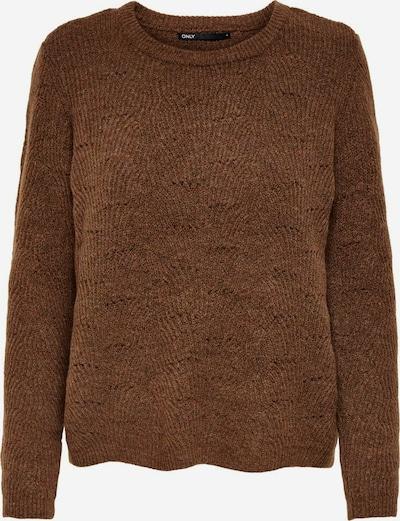 ONLY Pullover 'Lolli' in braun, Produktansicht