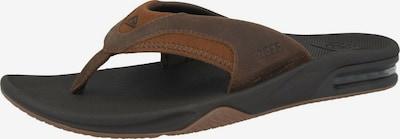 REEF Strand-/badschoen 'Fanning' in de kleur Bruin, Productweergave