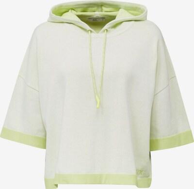 EDC BY ESPRIT Sweatshirt in pastellgelb / limette, Produktansicht