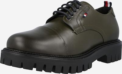 sötétzöld TOMMY HILFIGER Fűzős cipő, Termék nézet