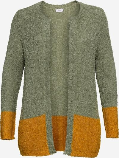 SHEEGO Kardigan w kolorze khakim, Podgląd produktu