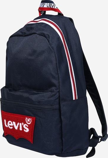 LEVI'S Rucksack in navy / rot / weiß, Produktansicht