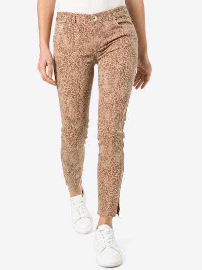 MOS MOSH Jeans in de kleur Sand / Bruin, Modelweergave