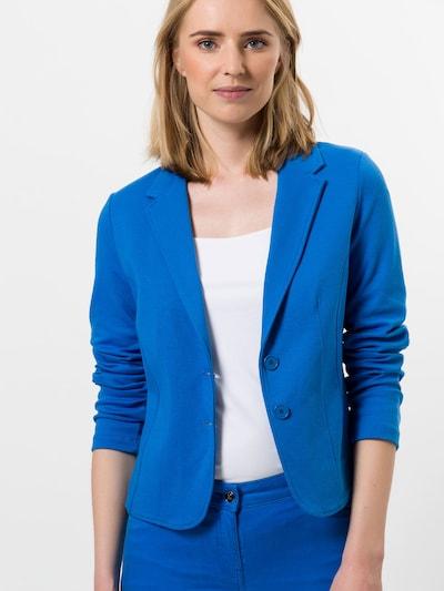 zero Jerseyblazer in blau, Modelansicht