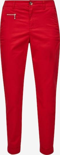 s.Oliver Pantalon chino en rouge, Vue avec produit