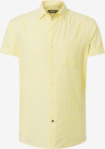PIERRE CARDIN Hemd in Gelb