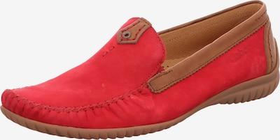 GABOR Mocassins in de kleur Bruin / Rood, Productweergave