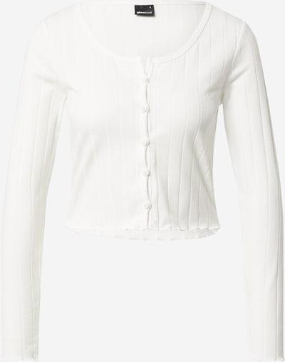 Geacă tricotată 'Darla' Gina Tricot pe alb, Vizualizare produs
