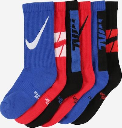 Nike Sportswear Sokken in de kleur Donkerblauw / Rood / Zwart / Wit, Productweergave