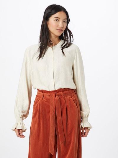 Fabienne Chapot Blouse 'Studio' in de kleur Crème, Modelweergave