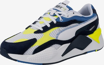 PUMA Nízke tenisky - kráľovská modrá / tmavomodrá / neónovo žltá / biela, Produkt