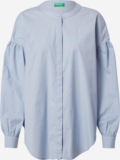 Camicia da donna UNITED COLORS OF BENETTON di colore blu fumo, Visualizzazione prodotti