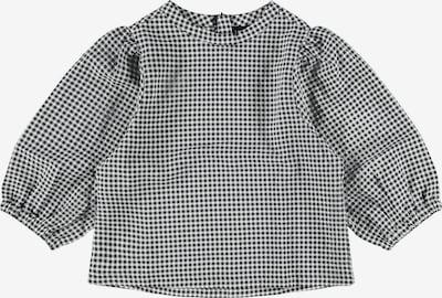 LMTD Bluse 'Fibba' in schwarz / weiß, Produktansicht