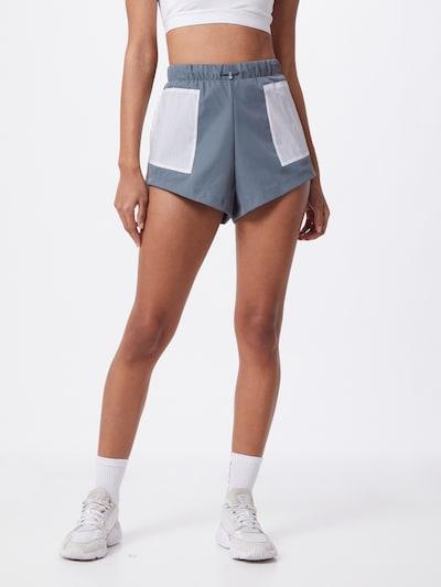 ADIDAS PERFORMANCE Športové nohavice - dymovo modrá / biela, Model/-ka