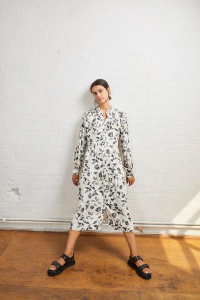 Aligne Kleid 'Emma' in schwarz / weiß, Modelansicht