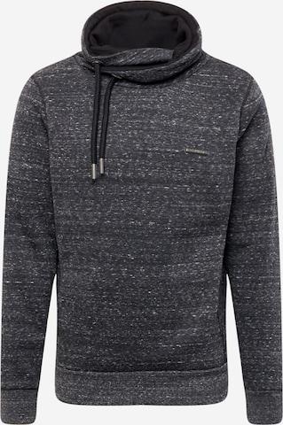 Ragwear Sweatshirt 'HOOKER' in Schwarz