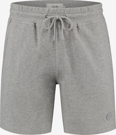 Shiwi Shorts in graumeliert: Frontalansicht