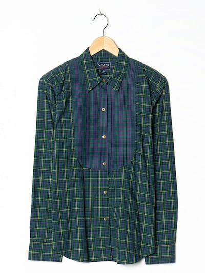 CHAPS Hemd in M-L in grün, Produktansicht