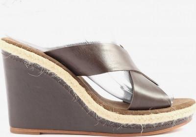 Marc O'Polo Plateau-Sandalen in 37 in creme / braun, Produktansicht