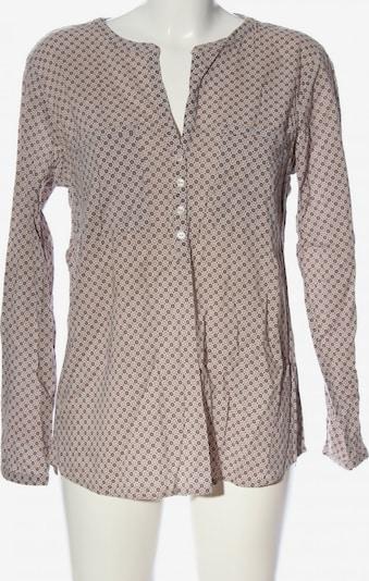 TOM TAILOR Hemd-Bluse in L in creme / schwarz, Produktansicht