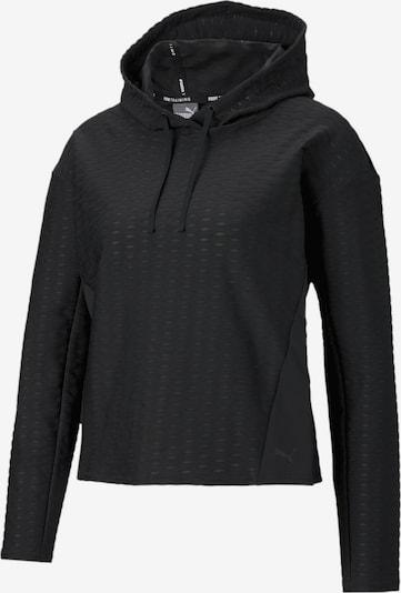 PUMA Sportief sweatshirt 'Flawless' in de kleur Zwart, Productweergave