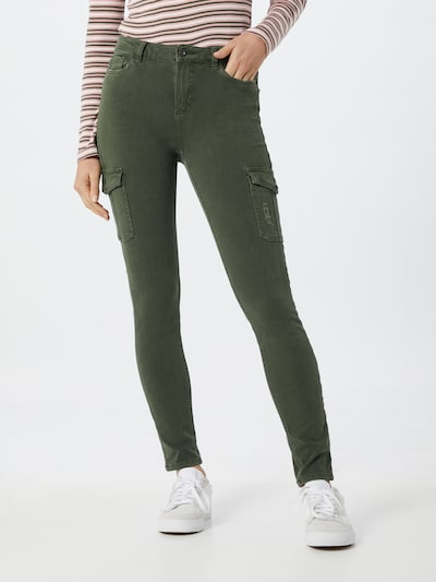 EDC BY ESPRIT Jeans in khaki: Frontalansicht