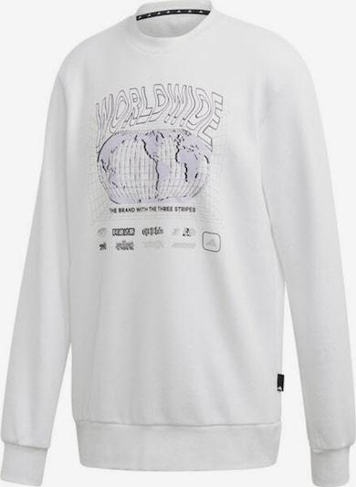 ADIDAS PERFORMANCE Sweatshirt in perlweiß / naturweiß, Produktansicht