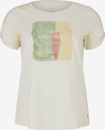MY TRUE ME T-Shirt in beige / gelb / grün / rot, Produktansicht