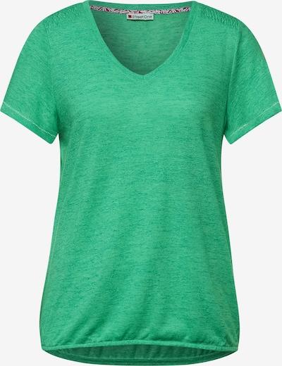 STREET ONE T-shirt en vert, Vue avec produit