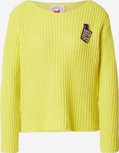Frogbox Pullover in gelb, Produktansicht