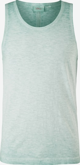 s.Oliver Shirt in de kleur Pastelgroen, Productweergave