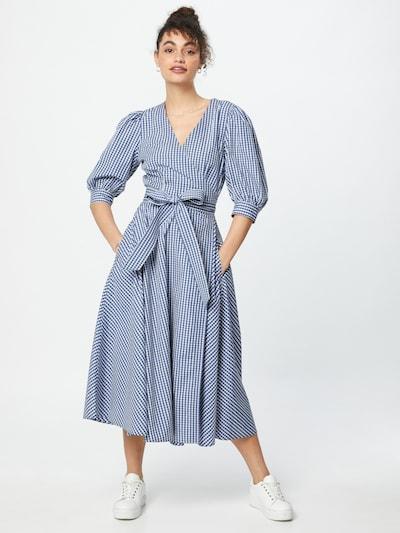 POLO RALPH LAUREN Kleid in blau / weiß, Modelansicht
