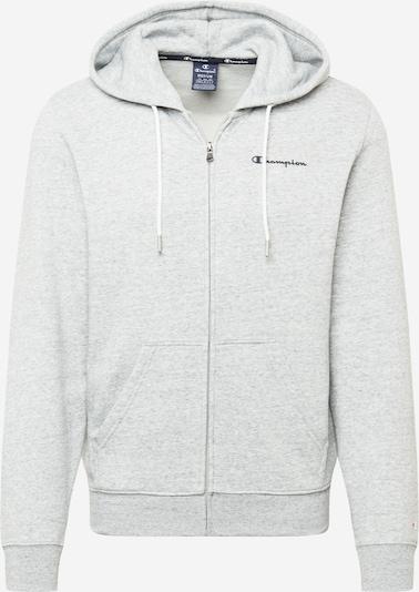 Champion Authentic Athletic Apparel Sweatvest in de kleur Lichtgrijs / Donkergrijs / Wit, Productweergave