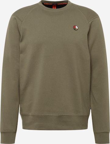 RÆBURN Sweatshirt in Grün