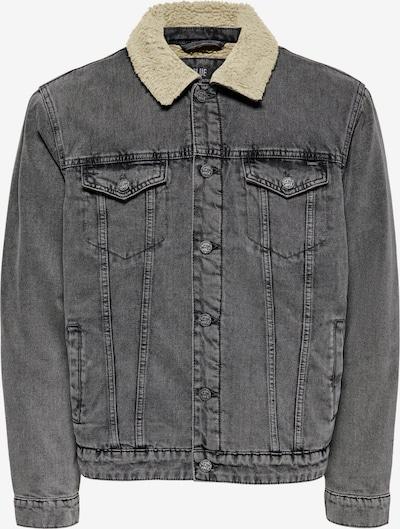 Only & Sons Jacke 'Louis' in grey denim, Produktansicht