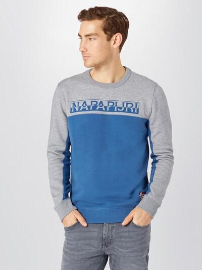 Megztinis be užsegimo iš NAPAPIJRI , spalva - tamsiai mėlyna / pilka: Vaizdas iš priekio