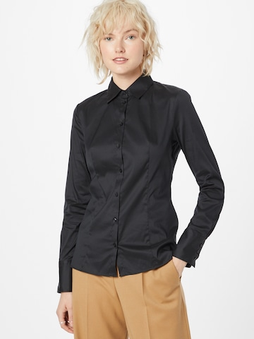 HUGO Blouse 'The Fitted Shirt' in Black