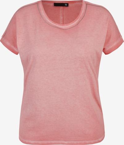 Thomas Rabe Shirt mit unifarbenem Stoff Glitzerdetails in hellpink, Produktansicht