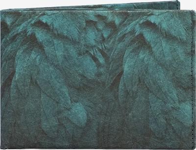 paprcuts Portemonnaie 'ARA' in türkis / schwarz, Produktansicht