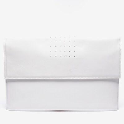 Rick Owens Clutch in M in weiß, Produktansicht