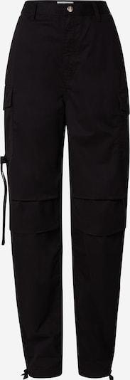 Pepe Jeans Pantalon cargo en noir denim, Vue avec produit
