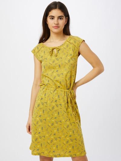 Ragwear Kleid 'Tetuan Organic' in gelb / mischfarben, Modelansicht
