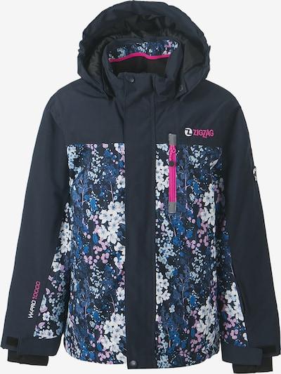 ZigZag Skijacke 'SYDNEY' in dunkelblau / pink, Produktansicht