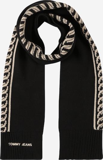 Tommy Jeans Šál - béžová melírovaná / čierna, Produkt
