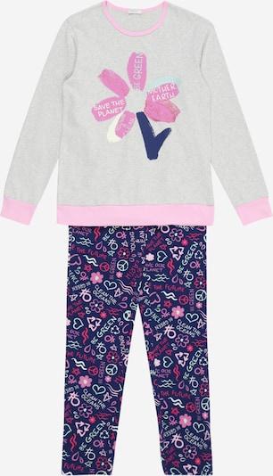 UNITED COLORS OF BENETTON Pyžamo - indigo / svetlosivá / ružová, Produkt