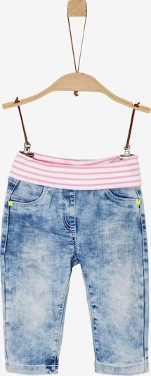 s.Oliver Jeans in blau / pink, Produktansicht