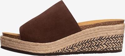SCHOLL Sandalen Mit Keilabsatz 'MALAGA' in braun, Produktansicht