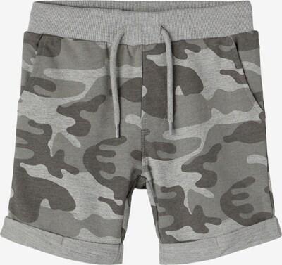 Pantaloni 'Vermo' NAME IT pe gri deschis / gri închis / gri amestecat, Vizualizare produs