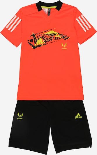 ADIDAS PERFORMANCE Chándal en amarillo / rojo anaranjado / negro / blanco, Vista del producto
